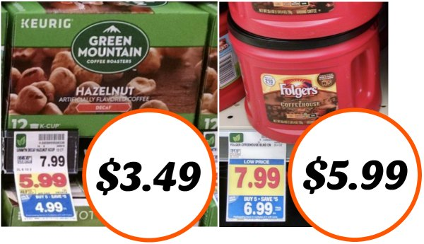 photograph relating to Folgers Coffee Coupons Printable named Refreshing Espresso Discount codes - Environmentally friendly Mountain Simply $3.49 At Kroger (+
