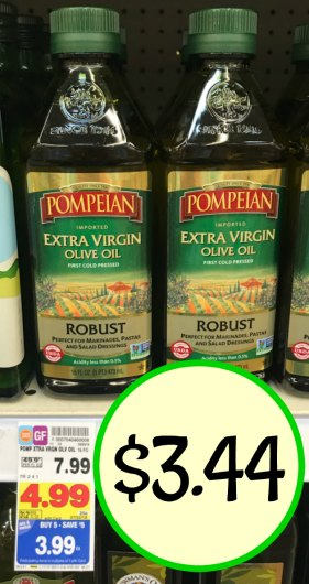 pompeian olive oil coupons
