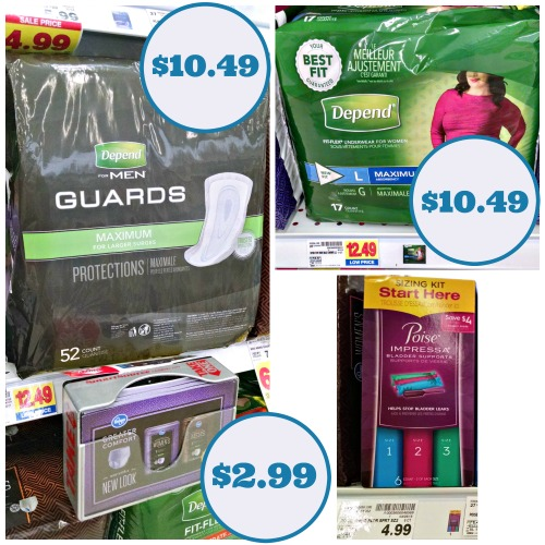 photo regarding Depends Printable Coupons named Clean Poise Count Discount codes Specials At Kroger