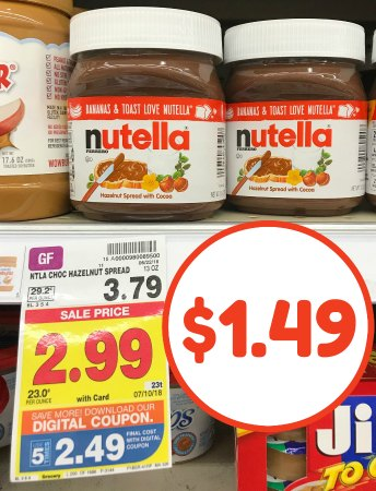graphic relating to Nutella Printable Coupon referred to as nutella coupon I Middle Kroger