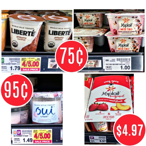graphic about Yogurt Coupons Printable identified as Loads Of Clean Yogurt Discount codes - Yogurt As Minimal As 75¢ At Kroger
