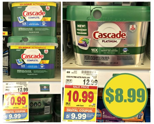 graphic regarding Cascade Coupons Printable identified as cascade I Centre Kroger
