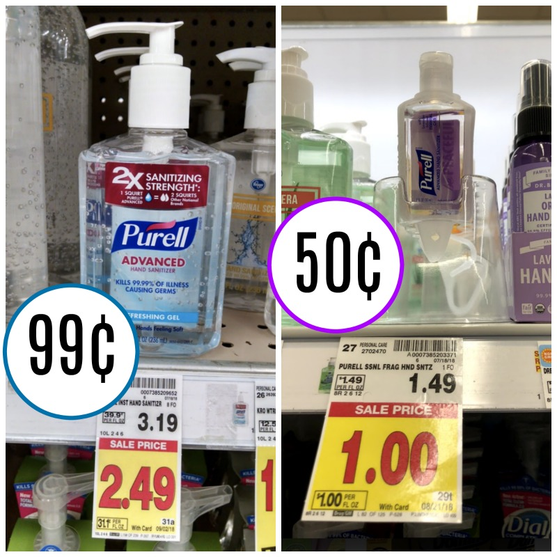 picture regarding Purell Printable Coupons referred to as Purell Hand Sanitizer Discounts - As Lower As 50¢ At Kroger