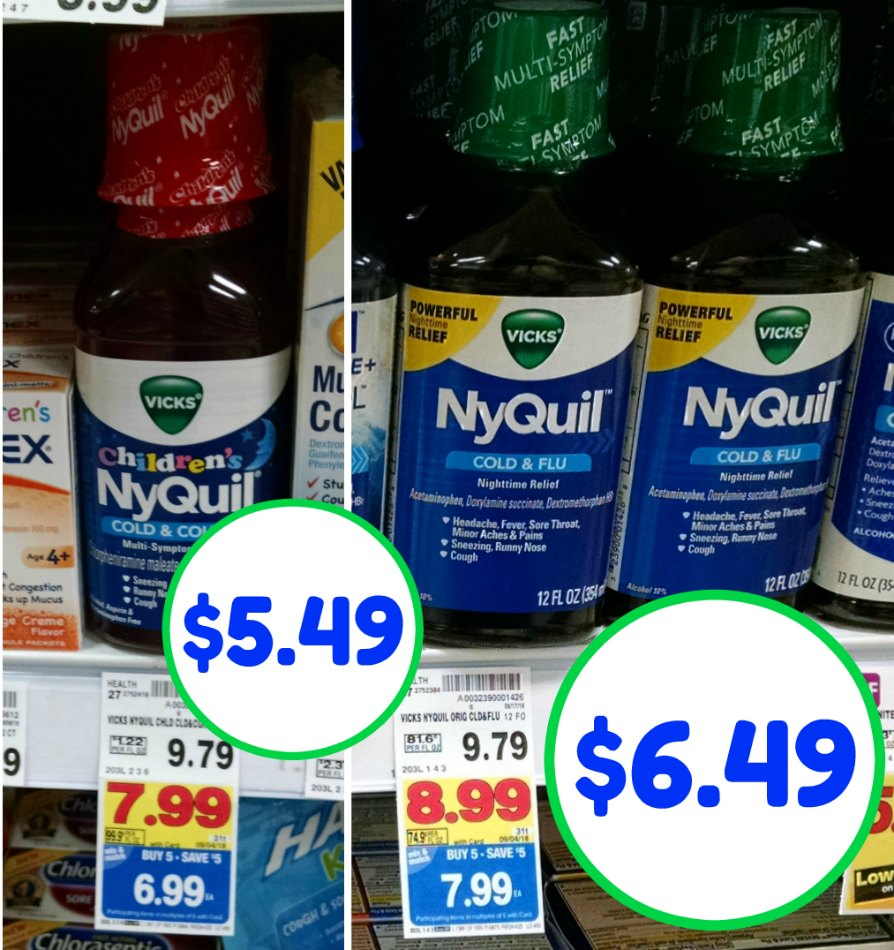 photo regarding Nyquil Coupons Printable identify nyquil coupon I Center Kroger