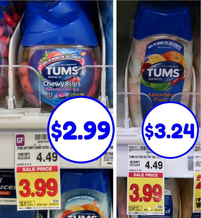 graphic regarding Tums Coupon Printable named Contemporary Tums Coupon - As Small As $2.99 At Kroger
