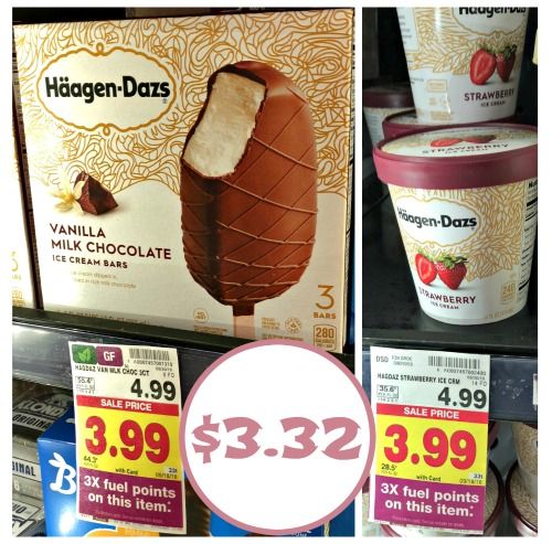 graphic about Haagen Dazs Coupon Printable named Haagen-Dazs Ice Product Simply just $3.32 At Kroger