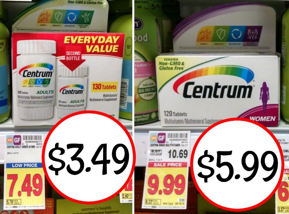 photograph about Centrum Coupon Printable identify Centrum coupon I Centre Kroger
