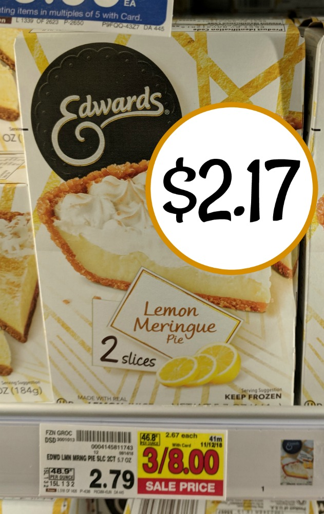 picture relating to Edwards Pies Printable Coupons known as edwards pie coupon I Middle Kroger