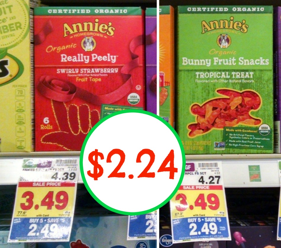 Annies fruit snacks coupon
