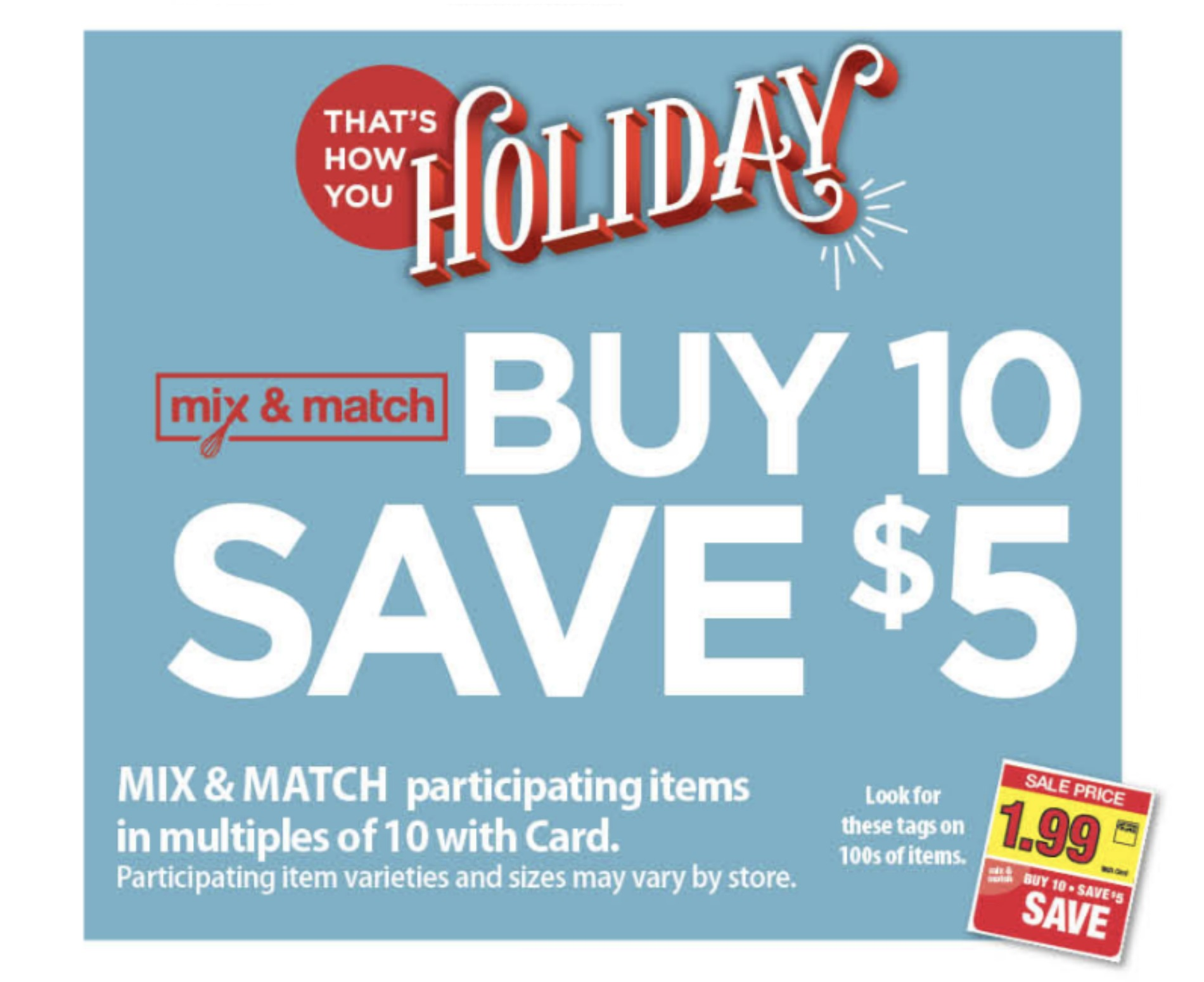 Kroger Buy 10 Save 5 Mega Sale Inclusion List Valid 10 31 11 13