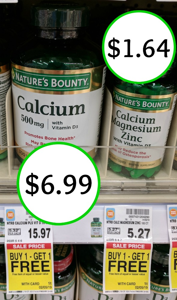photograph relating to Nature's Bounty Printable Coupon called Clean Natures Bounty Coupon - Nutrition As Reduced As $1.64 At Kroger