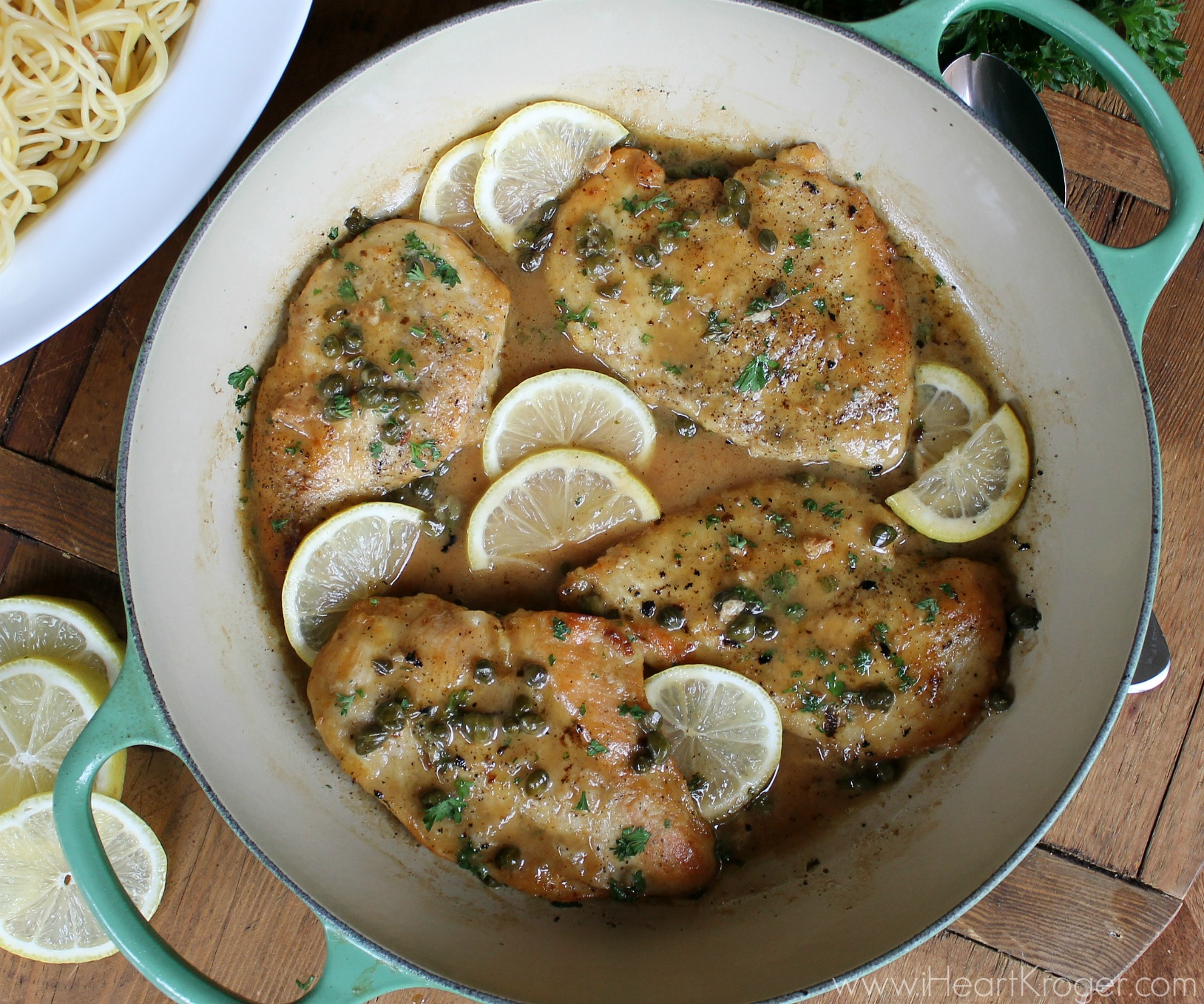 Easy Weeknight Chicken Piccata - Save On Holland House Cooking Wine At Kroger! 2
