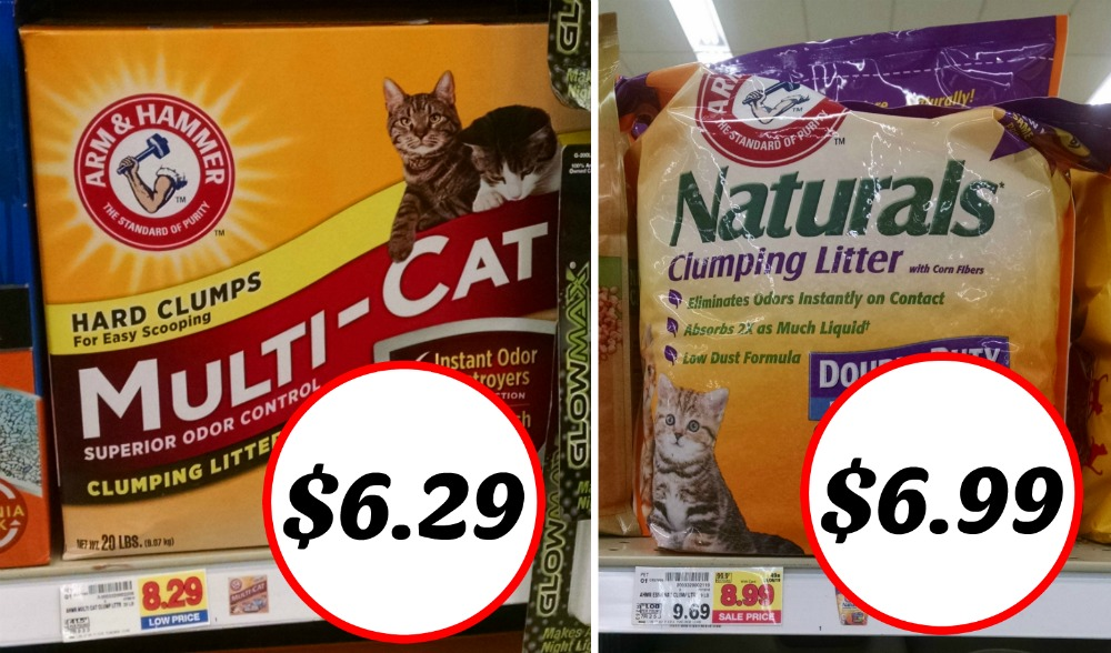 picture about Cat Litter Coupons Printable named Fresh Arm Hammer Cat Clutter Coupon - As Very low As $6.29 At Kroger