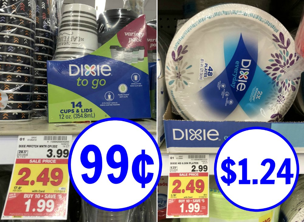 Dixie To-Go Cups Just 99¢ During The Kroger Mega Sale (Plus