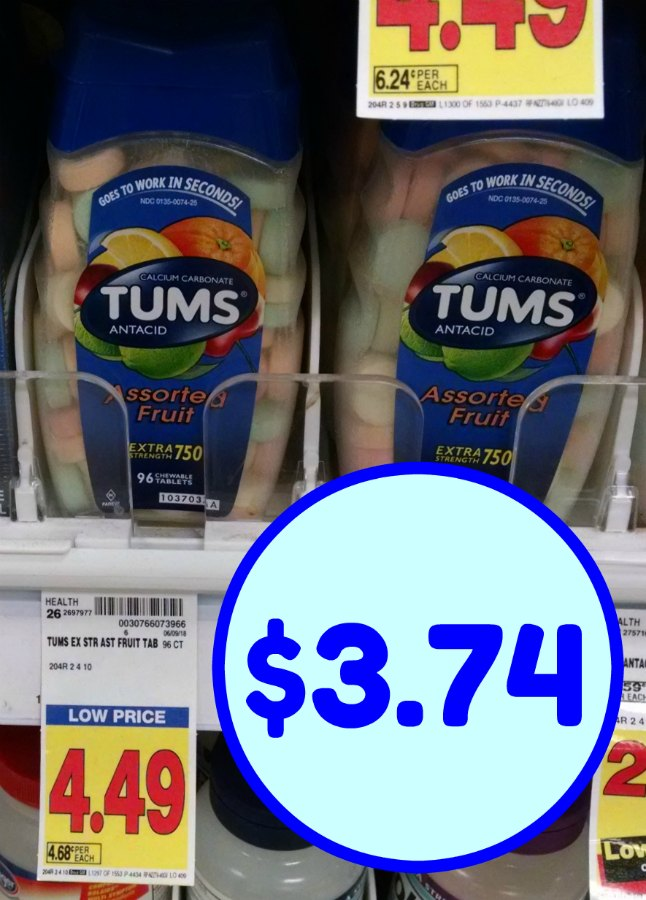 picture regarding Tums Coupon Printable identify Tums coupon I Center Kroger