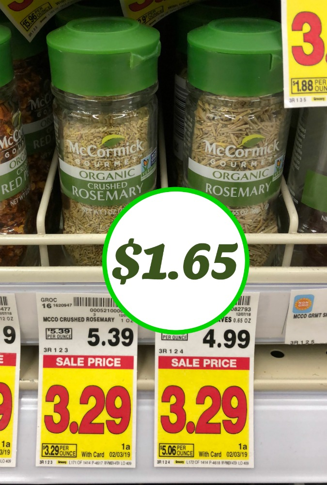 Super Deal On McCormick Spices - Sale & Coupon!