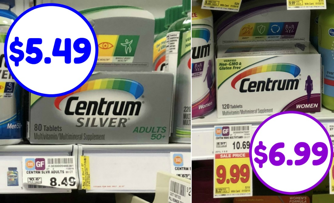 picture regarding Centrum Coupon Printable referred to as Centrum coupon I Middle Kroger