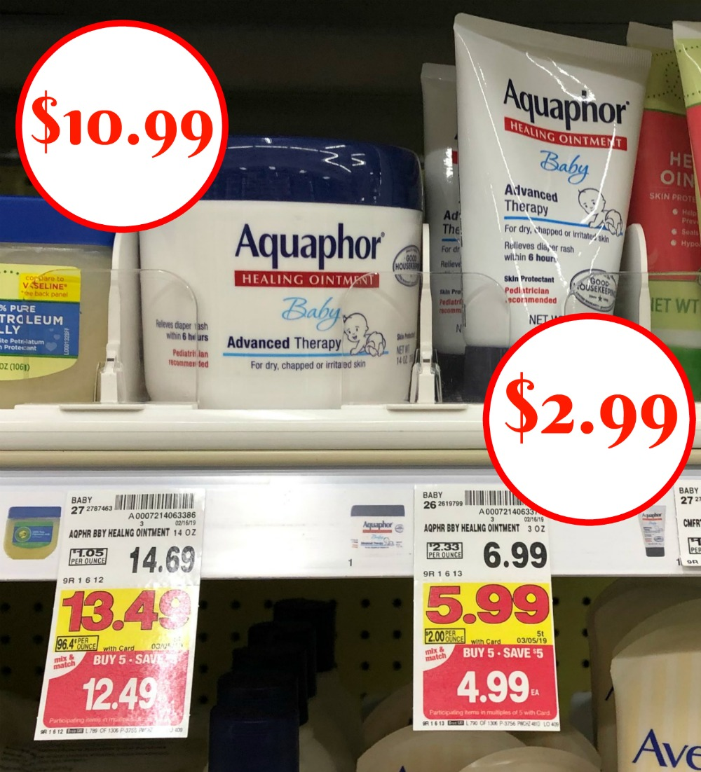 aquaphor coupon insert