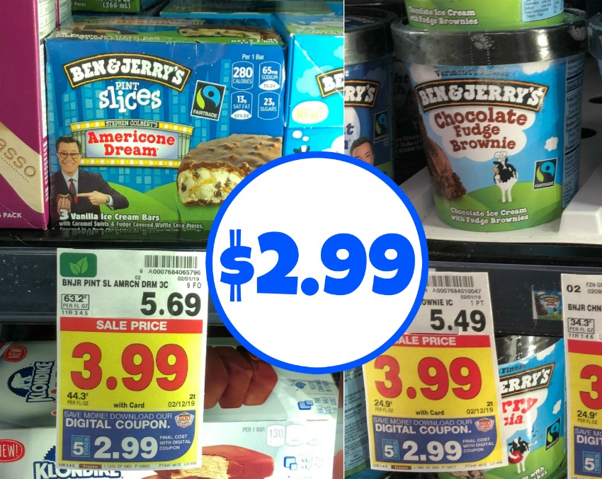photo about Ben and Jerry's Printable Coupons titled Ben Jerrys coupon I Center Kroger