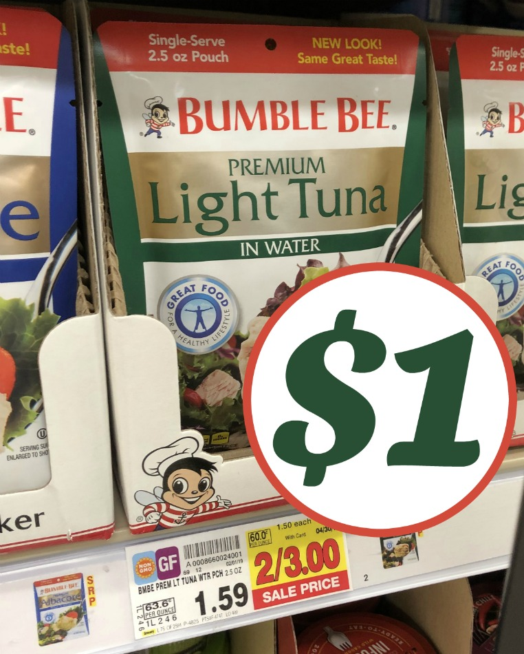 Bumble Bee coupon I Heart Kroger