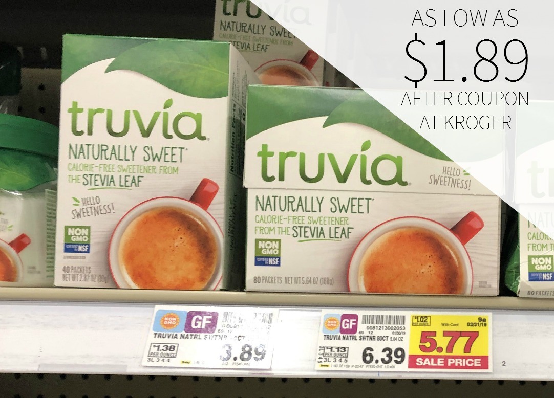 photo relating to Truvia Coupon Printable referred to as truvia coupon I Centre Kroger