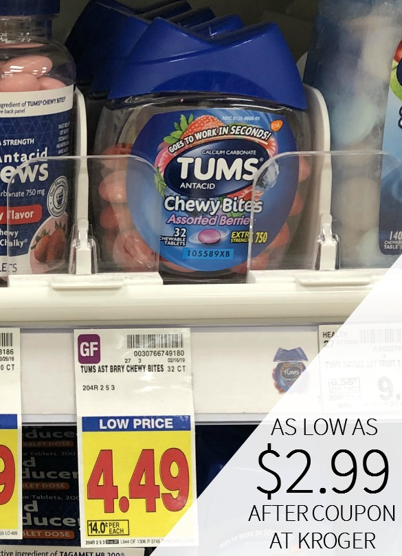 image relating to Tums Coupon Printable referred to as Tums discount coupons I Center Kroger