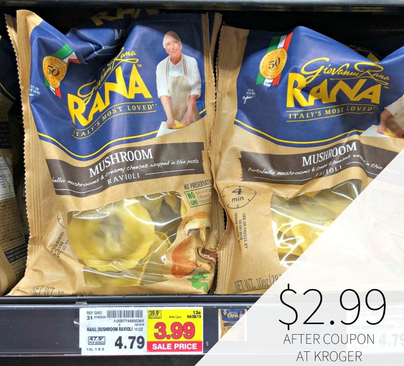 Rana Pasta Or Sauce Only $2 99 At Kroger