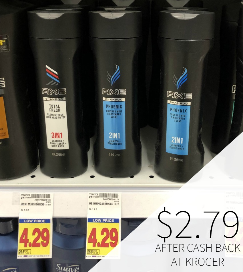 Axe Hair Care Just $2.79 At Kroger