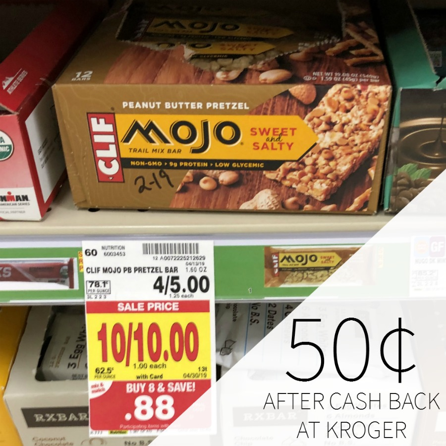 Clif Mojo Bars As Low As 50¢ At Kroger