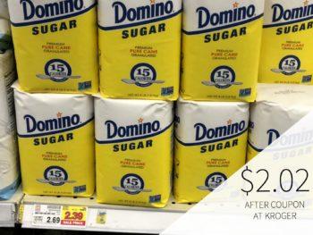 Domino Sugar Just $2.02 At Kroger 1