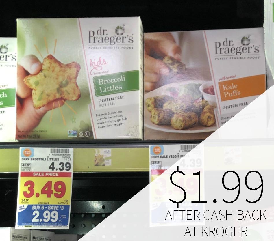 Dr. Praeger's Frozen Foods Just $1.99 During The Kroger Mega Sale