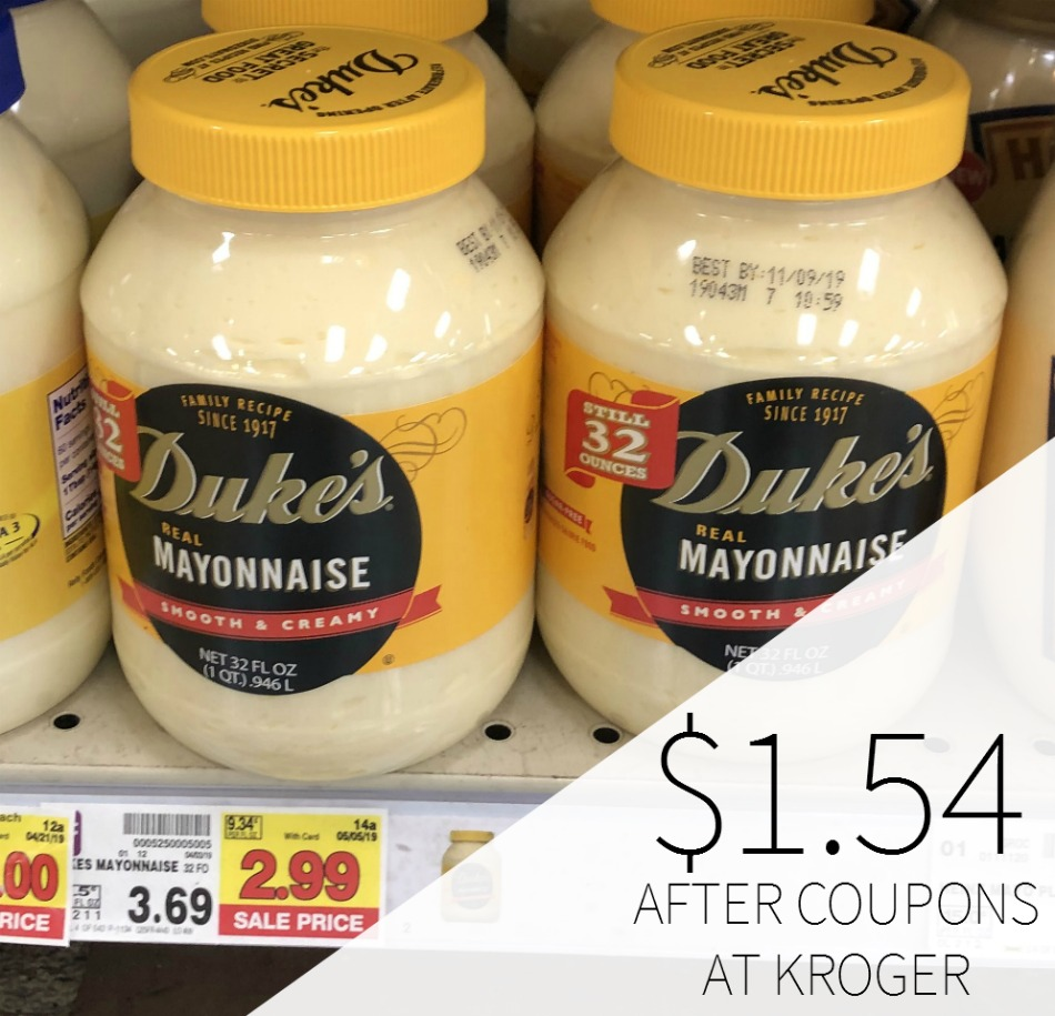 Duke's Real Mayo Just $1.54 At Kroger