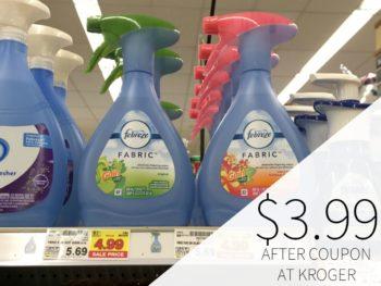 Febreze Fabric Spray Just $3.99 At Kroger