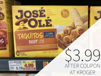 José Olé Taquitos Just $3.99 At Kroger