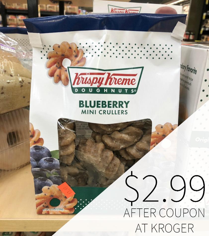 Krispy Kreme Snack Bag Just .99 At Kroger