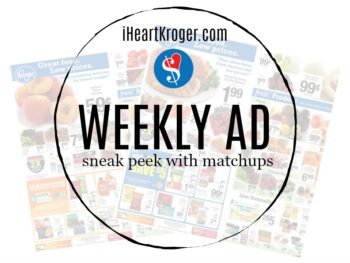 Kroger Ad & Coupons Week Of 4/24 - 4/30