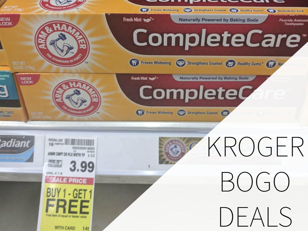 Kroger BOGO Deals - April 26