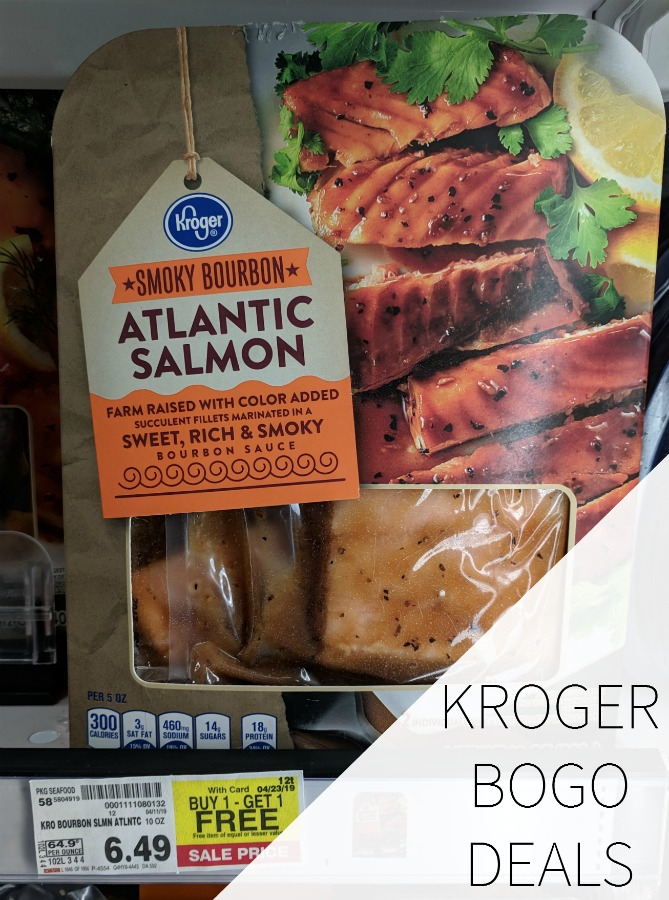 Kroger BOGO Deals - April 19