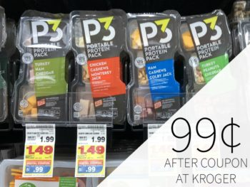 Oscar Mayer P3 Just 99¢ At Kroger