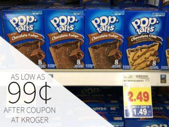 Pop Tarts Just 99¢ Each At Kroger
