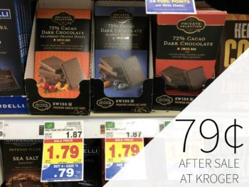 Private Selection Chocolate Bar Just 79¢ During The Kroger Mega Sale