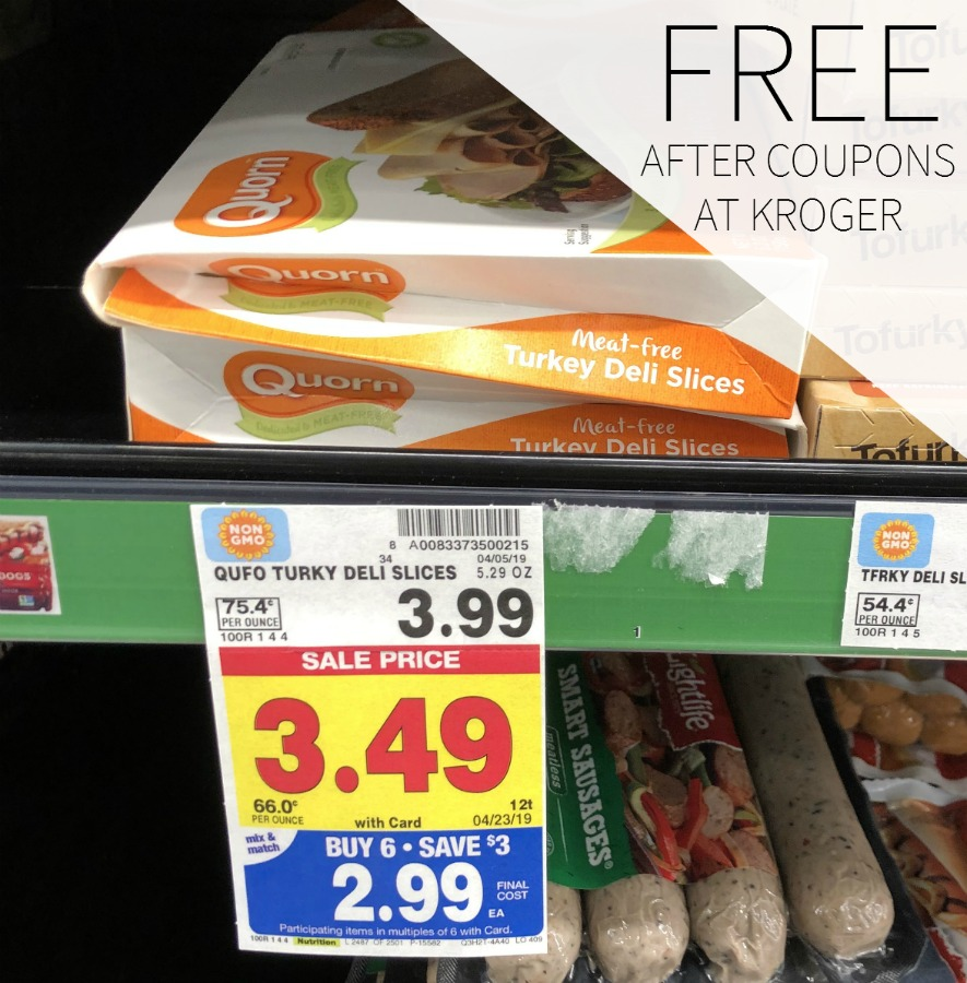 Quorn Meatless Deli Slices FREE During The Kroger Mega Sale