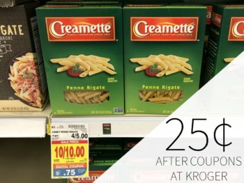 Ronzoni Or Creamette Pasta Just 75¢ At Kroger
