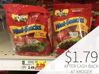 Sun-Maid Raisins As Low As $1.79 At Kroger