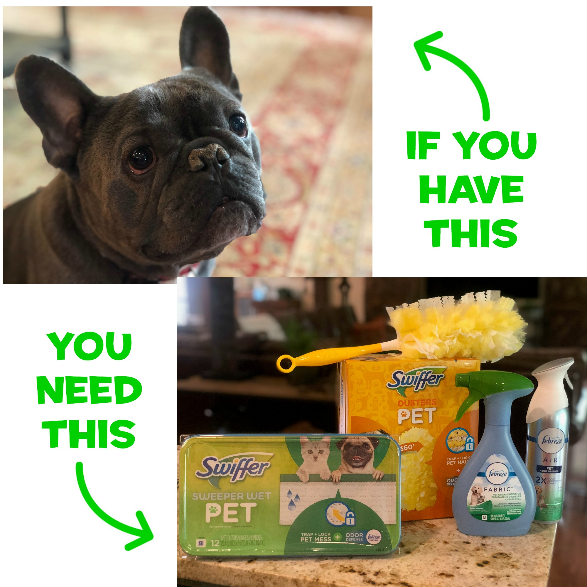 Swiffer And Febreze Products To Help Pet Owners Keep Their Home Fresh & Clean - #DontSweatYourPet 4