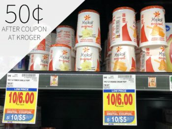 Yoplait Original Yogurt Just 50¢ Each At Kroger