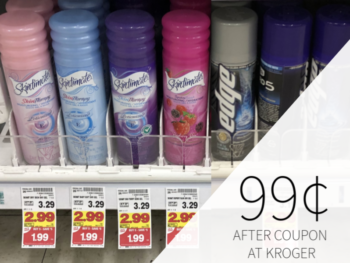 Edge Or Skintimate Shave Gel Only 99¢ At Kroger