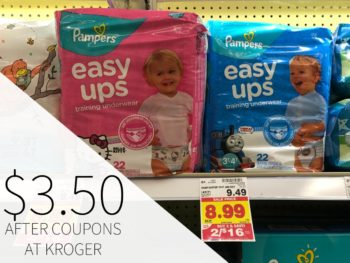 Pamper Easy Ups Just $3.50 Each At Kroger ( Reg $9.49 )