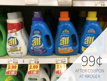 New All Detergent Coupon For Kroger Mega Sale