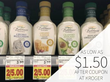 Bolthouse Farms Salad Dressing As Low As $1.50 Each At Kroger